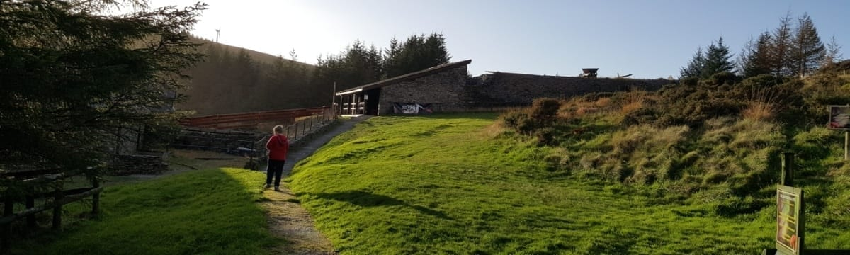 The Silver Mountain Experience 'Black Chasm', Ponterwyd, Wales