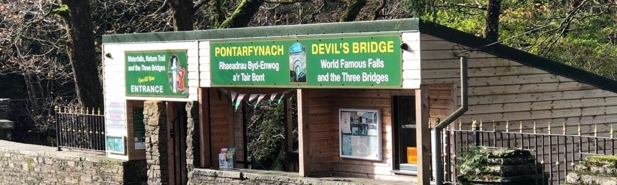 A visit to Devil's Bridge in Mid-West Wales