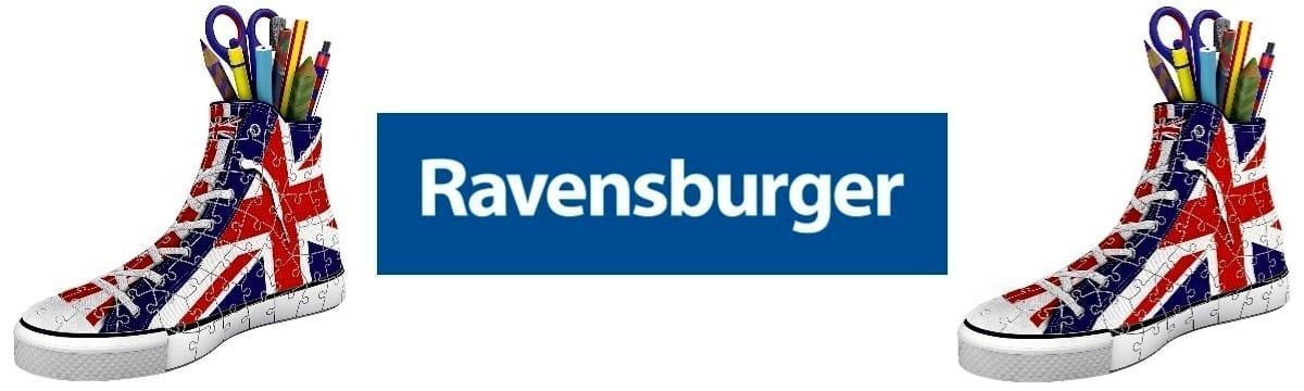 Review: Ravensburger Union Jack Sneaker 3D Jigsaw Puzzle