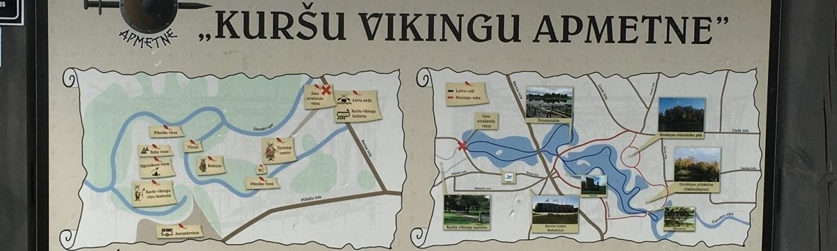 A Visit to the Curonian Viking Settlement, Grobina, Latvia