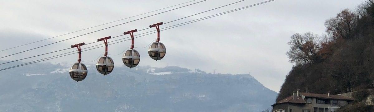 Téléphérique de Grenoble Bastille: A Ride on the Bubbles!